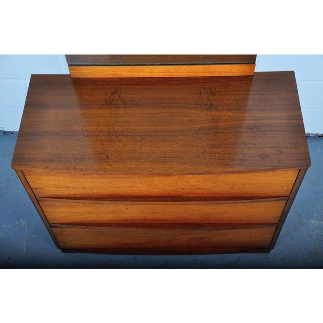 Mid-Century Modern Walnut Vanity Dresser For Sale - Image 10 of 13