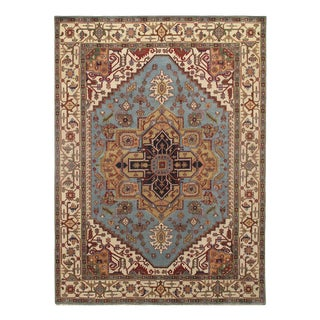 Pasargad Serapi Hand-Knotted Rug-10'x14′ For Sale