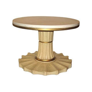 Hollywood Regency-Style Cocktail Table For Sale