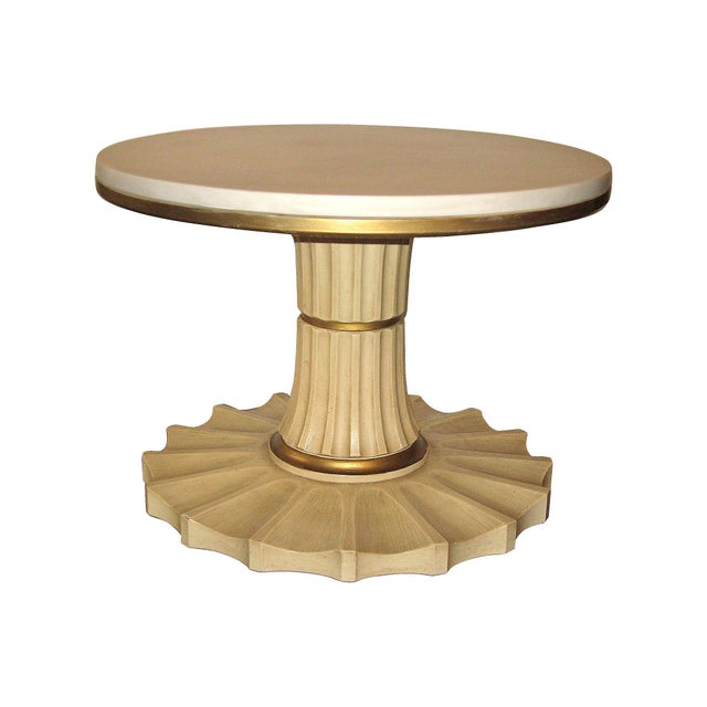 Hollywood Regency-Style Cocktail Table - Image 1 of 4