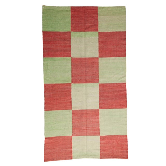 """Contemporary Patchwork Rug - 3'11"""" x 7'3"""" - Image 1 of 7"""