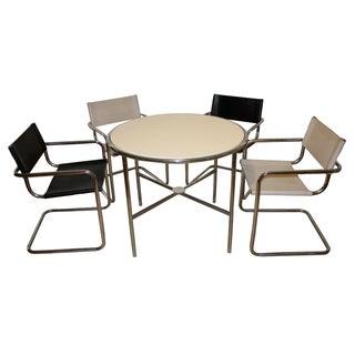 Bauhaus Chrome Dining Set