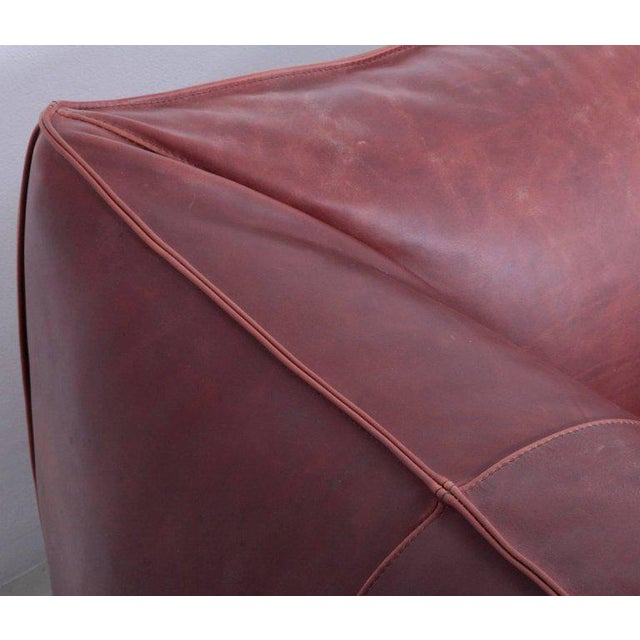 1970s Pair of Le Bambole Lounge Arm Chairs B&B Italia, 1970s by Mario Bellini For Sale - Image 5 of 8