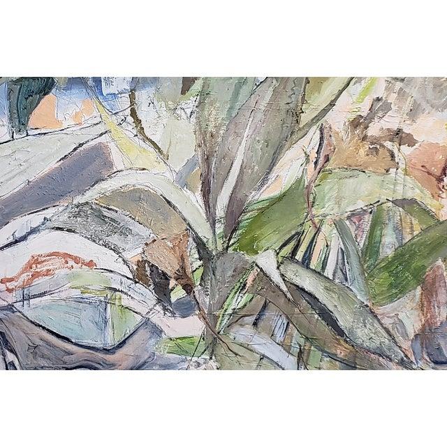 "Neil Brooks ""Bird Bath"" Landscape Painting For Sale - Image 4 of 6"