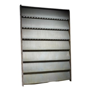 Jean Prouvé Sliding Panel or room divider, Cameroon, 1964 For Sale