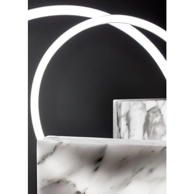 Stone Onyx Table Lamp, Sabine Marcelis For Sale - Image 7 of 10