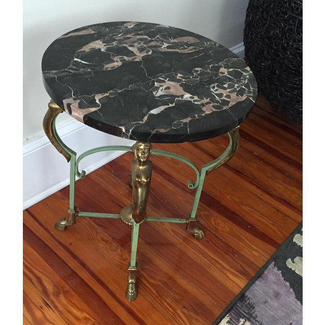 Antique French Marble Table - Image 6 of 9