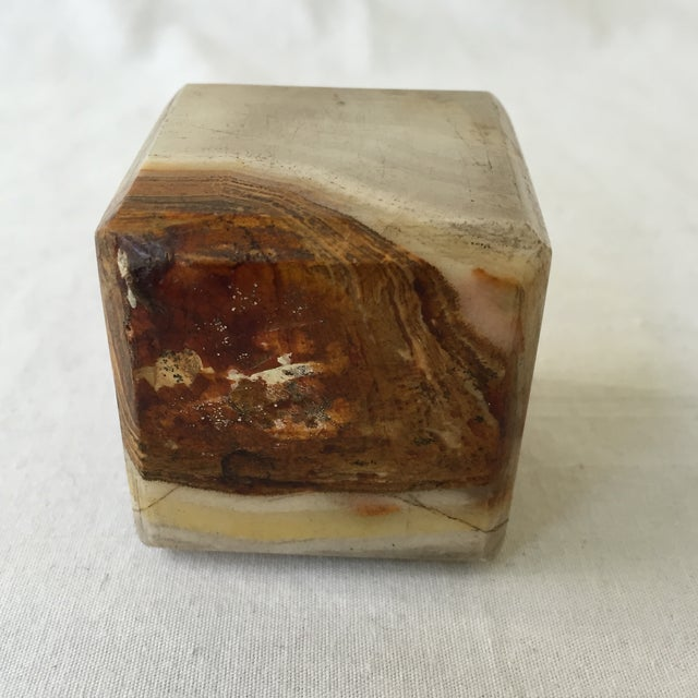 Vintage Agate Cube - Image 3 of 4