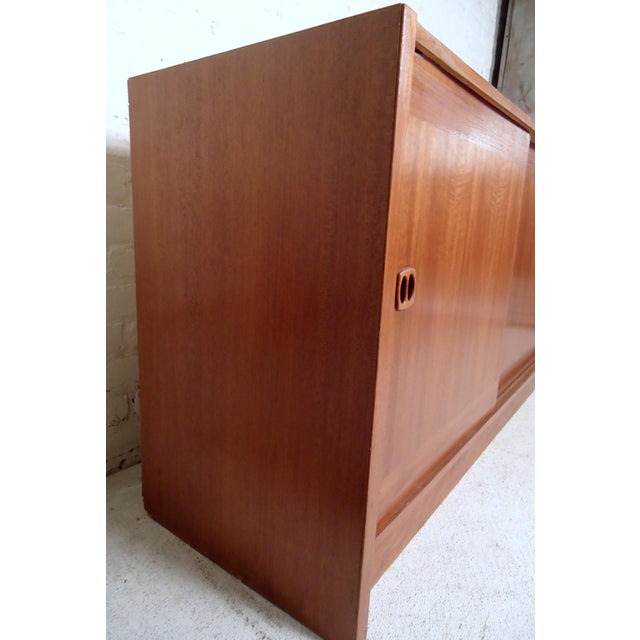 1960s Mid-Century Modern Danish Credenza For Sale - Image 5 of 11