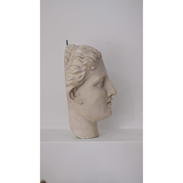 "Caproni Brothers Caproni & Brothers 1900s Traditional ""Diana of Gabii"" Plaster Mask For Sale - Image 4 of 10"