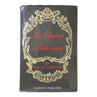 """""""The Elegant Auctioneers"""" 1st Edition Book For Sale"""