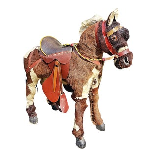 Vintage Child's Hobby Horse For Sale