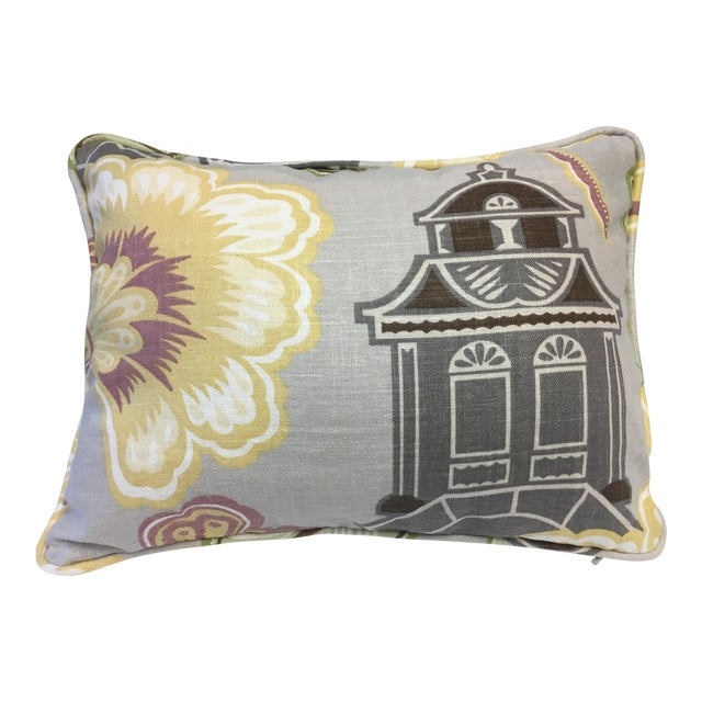 Kyoto Imperial Treasure Collection Pillow For Sale