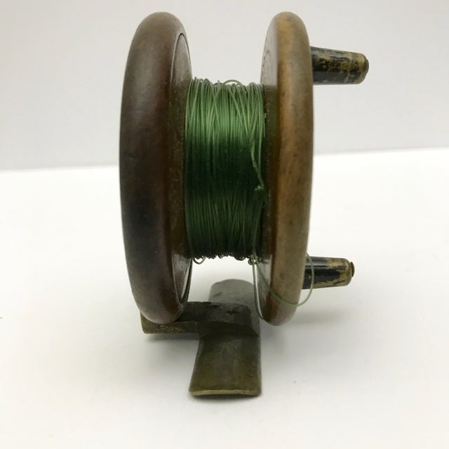 English Traditional 19th Century English Fishing Reel For Sale - Image 3 of 5