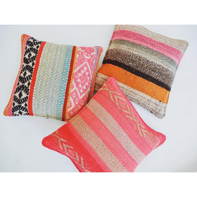 Boho Chic Frazada Pillow For Sale - Image 3 of 4