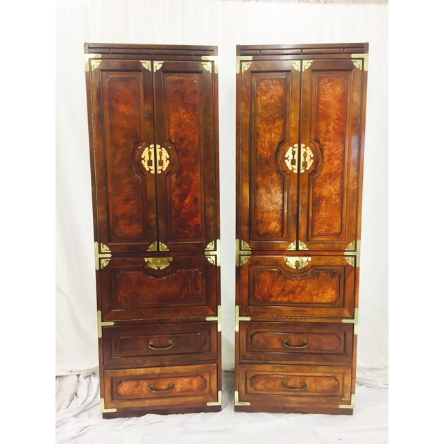 Mid-Century Asian Style Cabinets - A Pair - Image 2 of 11