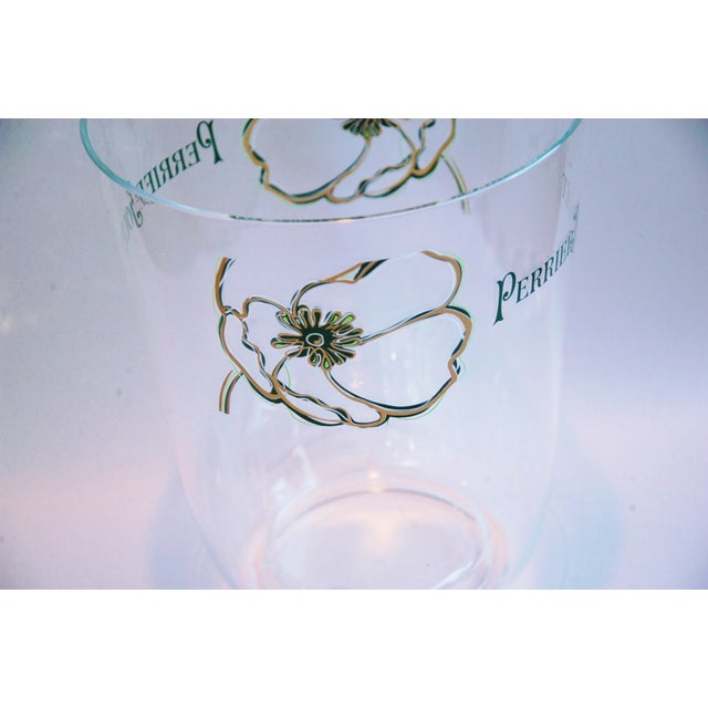 Vintage Perrier Jouët Champagne Wine French Bucket Chiller For Sale - Image 9 of 10