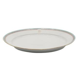 Antique Pillivuyt French Porcelain Serving Platter For Sale