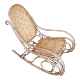 Thonet Bentwood & Caned Rocking Chair