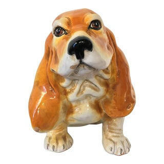 Italian Terra-Cotta Bassett Hound For Sale