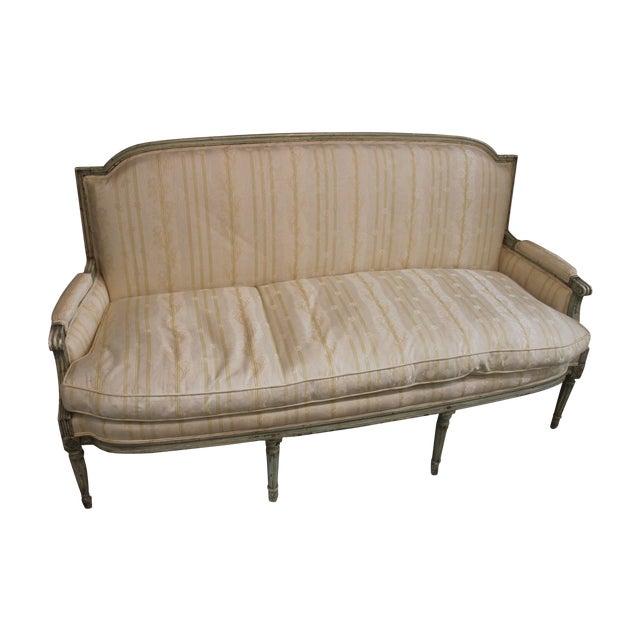 Louis XVI Style Settee - Image 1 of 7
