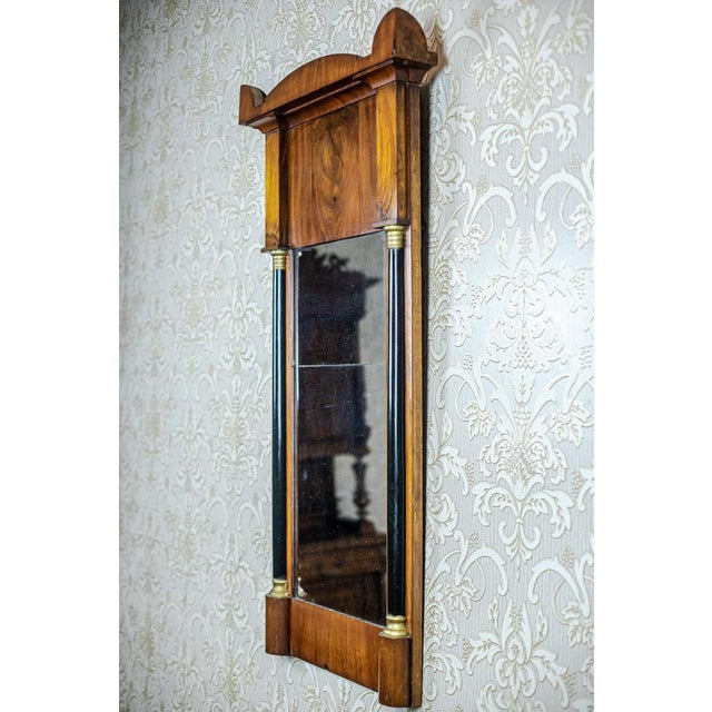 Mid 19th Century 19th-Century Karl Johan Mirror For Sale - Image 5 of 9