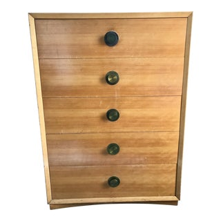 1960s Art Deco Large Chest of Drawers For Sale