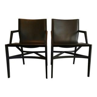 Rodolfo Dordoni for Cassina Pilotta Chairs- A Pair For Sale