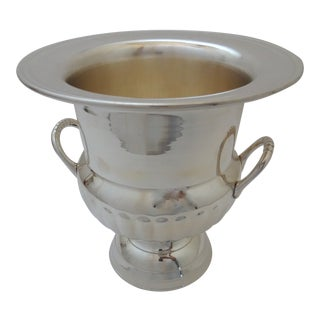 Contemporary Godinger Silver Queene Anne Champagne Bucket For Sale