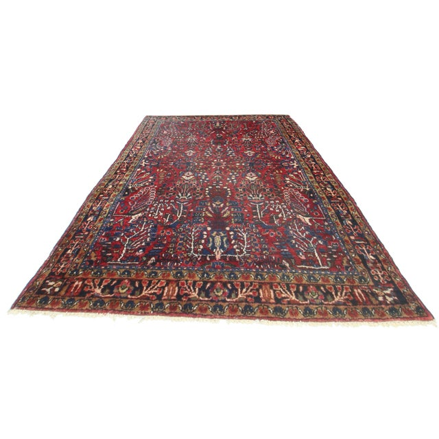 RugsinDallas Persian Sarouk Wool Rug - 3′2″ × 4′4″ - Image 2 of 2