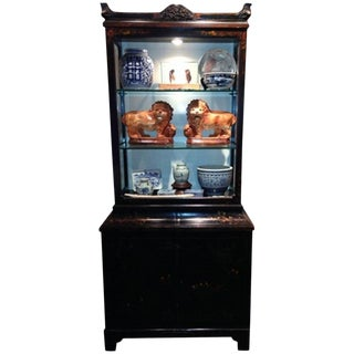 Chinoiserie Display Cabinet, 19th Century For Sale