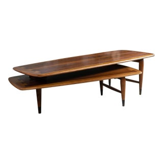 Mid-Century Lane Acclaim Switchblade Coffee Table For Sale