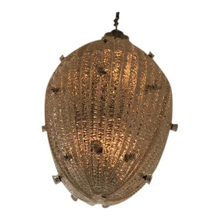 Carl Fagerlund for Orrefors Drop Pendant Chandelier