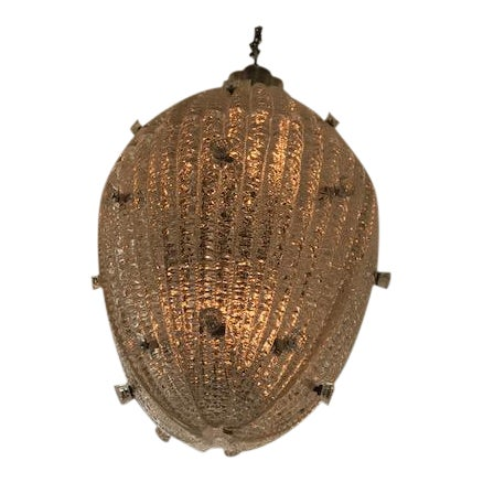 Carl Fagerlund for Orrefors Drop Pendant Chandelier - Image 1 of 6