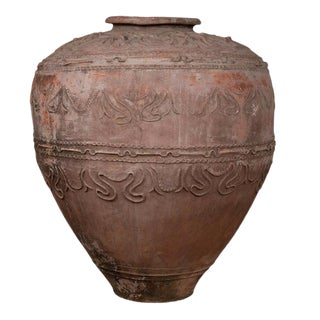 Indonesian Terracotta Water Jar For Sale
