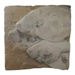 Flounder Fish Relief Casting For Sale