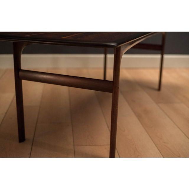 Scandinavian Modern Westnofa Rosewood Coffee Table For Sale - Image 9 of 11