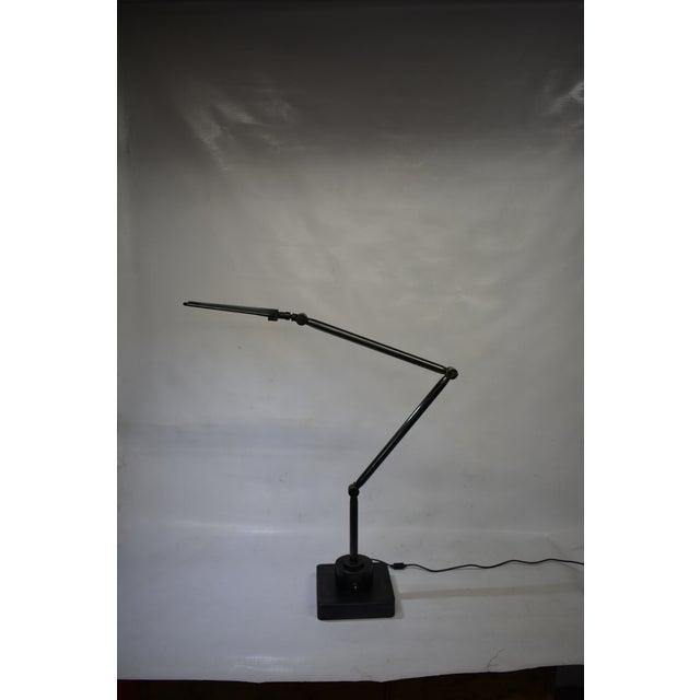 Oblik Studio Inc. Brass and Steel Desk Lamp For Sale - Image 9 of 9