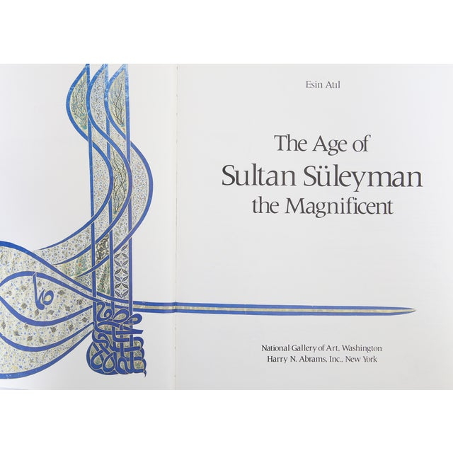 Age of Sultan Suleyman the Magnificent For Sale - Image 4 of 5