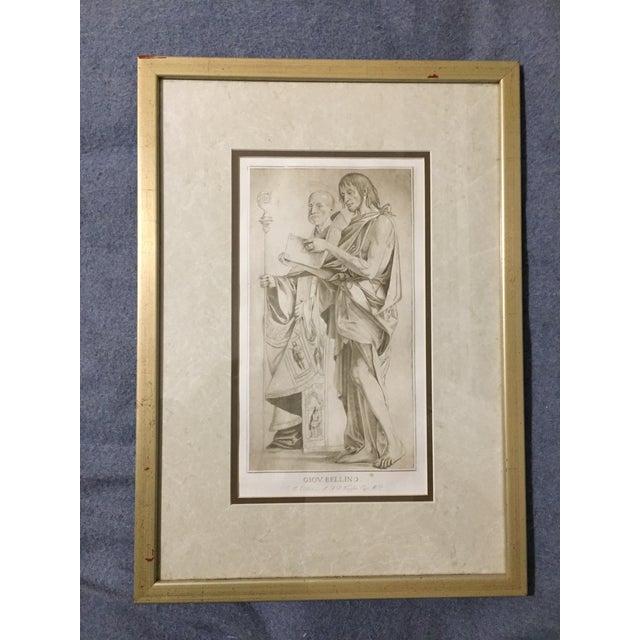 1770 Antique Giovanni Bellini Mezzotint Print For Sale In New York - Image 6 of 8
