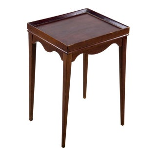 Traditional Mahogany Plant Stand For Sale