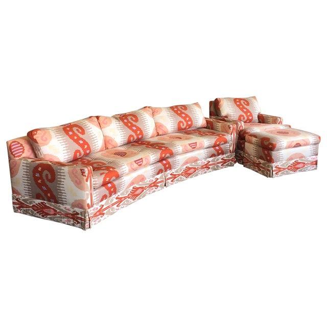 Martin Brattrud Ikat Sofa For Sale