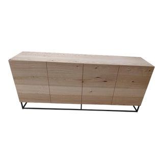 West Elm Industrial Sideboard For Sale