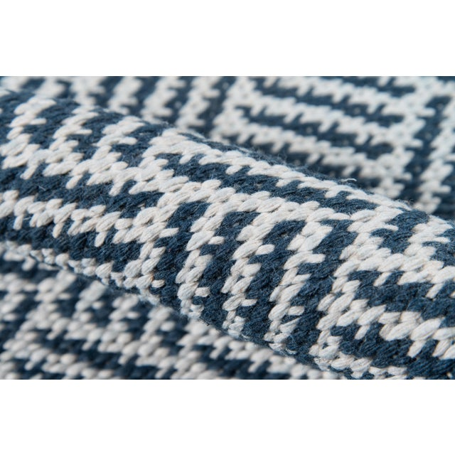 """Madcap Cottage Baileys Beach Beach Club Navy Indoor/OutdoorArea Rug 3'6"""" X 5'6"""" For Sale - Image 4 of 7"""