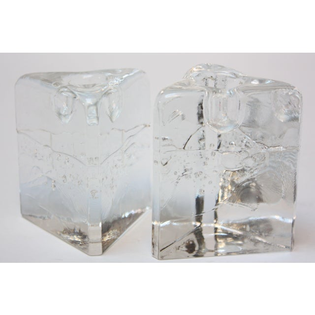 Timo Sarpaneva for Iittala 'Arkipelago' Candle Holders - A Pair For Sale - Image 11 of 11