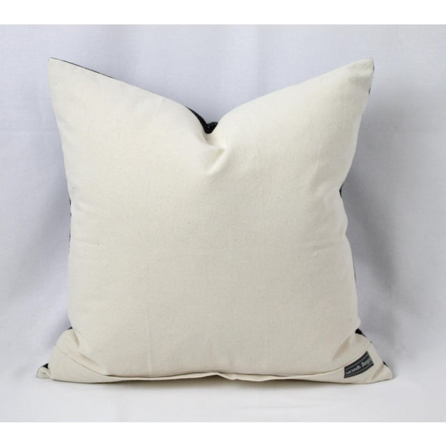 Vintage Geometric Patterned Pillow For Sale - Image 11 of 12