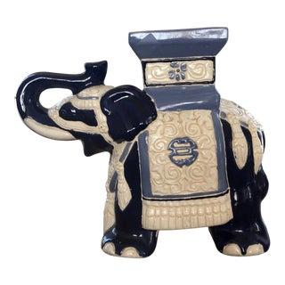 Ceramic Elephant Figurine For Sale