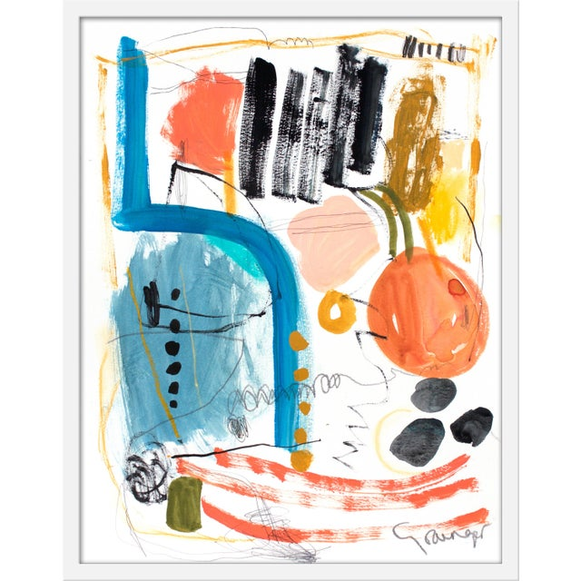 """Contemporary Medium """"Gathering"""" Print by Lesley Grainger, 23"""" X 29"""" For Sale - Image 3 of 3"""