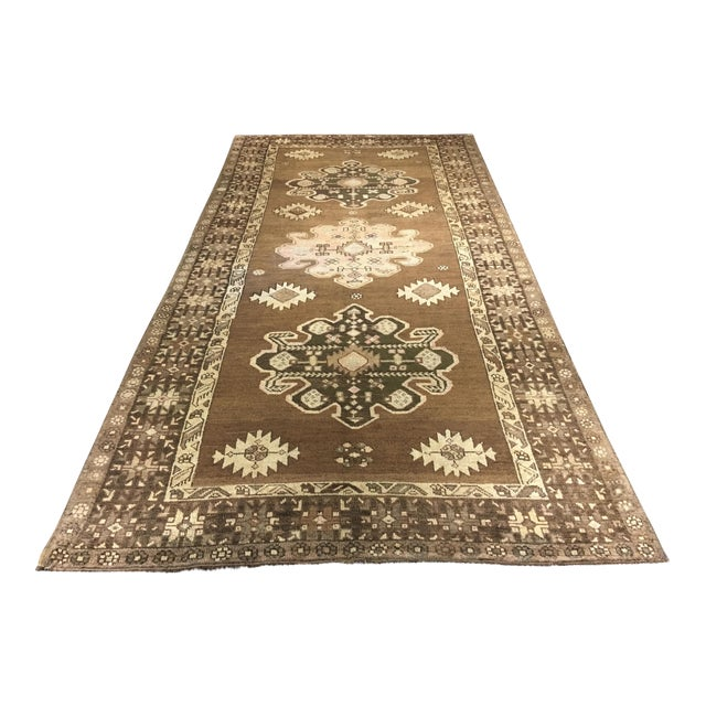 "Bellwether Rugs Turkish Oushak Runner- 5'3"" X 10'11"" - Image 1 of 9"