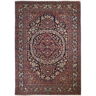 Antique Persian Isfahan Rug For Sale